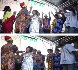 Kapsong Culture Association In Hamburg To Partner Gt. Accra Region For Development In Dangmeland