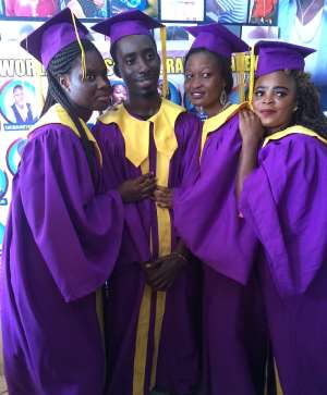 Rapper Asumadu Grabs Diploma In Disc Jockey