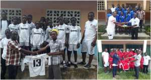 ESA Donate Jerseys And Volleyballs To Schools In Eastern Region