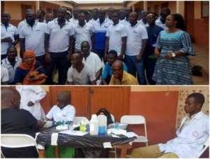 NHIA Holds Blood Donation Exercise