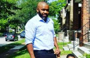Nollywood Actor, John Paul Nwadike goes Stolling with his Twins in US