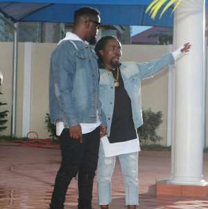 Obrafour showers blessings on Sarkodie's new age