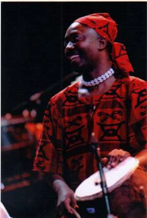 Free Ghanaian Percussion Clinic At The Intl. African Arts Festival With Maestro Harold Akyeampong