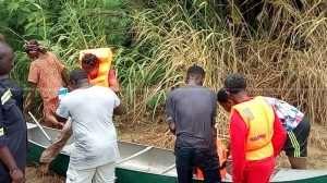 Ashanti Region: NADMO Rescues Flood Victims In Bosomtwi
