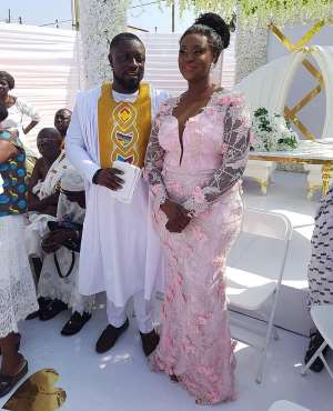 Photos And Videos From Bibi Bright's Marriage Ceremony