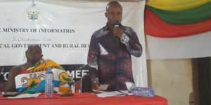 Town Hall Meetings Held In Sene East And West Assemblies