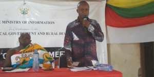 Town Hall Meetings Held In Sene East And West Assemblies
