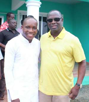 Armah Kofi Buah And Kwasi Bonzo Partnership In Ellembelle Development Will Be Perfect—Peter Ackah