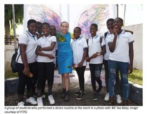 Pen To Paper Ghana gives girls 'wings to fly with' at Menstrual Hygiene Workshop