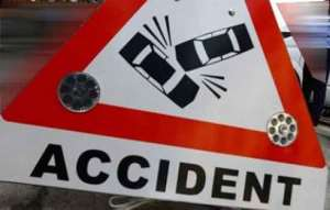 New Year Accident At Nsawam Leaves Soldiers Critically Injured
