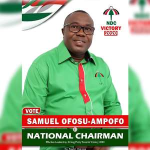 Ofosu-Ampofo Guns For NDC National Chairmanship Position
