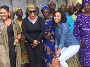 Actress, Halima Abubakar Donates Relief Materials to Widows
