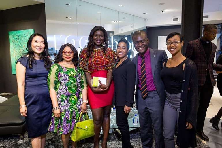NYC launch of the AFF with Africa's Richest Woman, Folorunsho Alakija & Roberta Annan