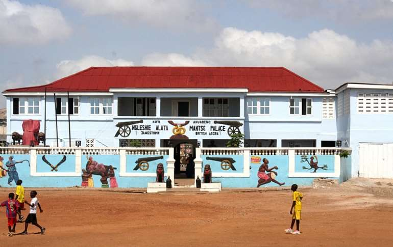 Ngleshie Alata Mantse's Palace, James Town