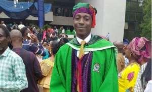 Comedian, Gbenga Adeyinka Celebrates Son as He Graduates from Covenant University