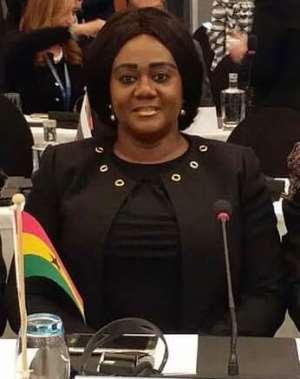 Deputy Minister for Lands and Natural Resources, Lawyer Barbara Oteng-Gyasi