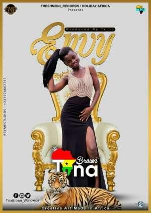 19 year old Tina Brown to launch her first single this month