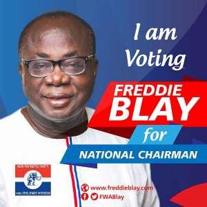 NPP Polls: Freddie Blay is not a traitor, corrupt - Ellembelle NPP