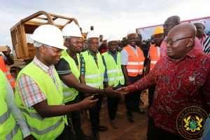 Akufo-Addo Cuts Sod For 25.7km Nasia-Janga Road In Northern Region