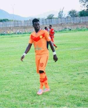 Several Clubs Chase Ghanaian Forward Richard Appiah
