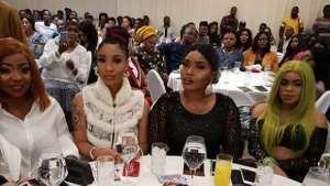 Faces at Nollywood Actress, Halima Abubakar 'Blood battle' Movie Premiere