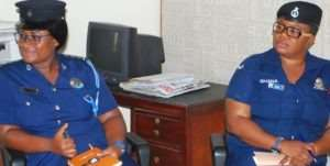 DSP Afia Tenge Calls On The Chronicle