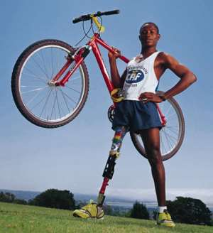 Para Cyclist Emmanuel Ofosu Yeboah To Ride For Peaceful Elections In Ghana