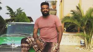 Holiday Internship: Actor, Kunle Afolayan Sends Son to Learn to Repair Car