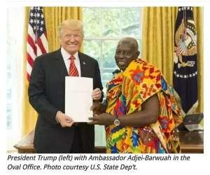 Cocktail Reception In Honor Of Dr. Barfuor Adjei-Barwuah; Ghana Ambassador To U.S