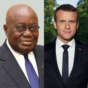 Akufo Addo Really Barked At Emanuel Macron