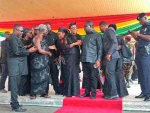 Osafo Maafo Mourns Late Former Vice President