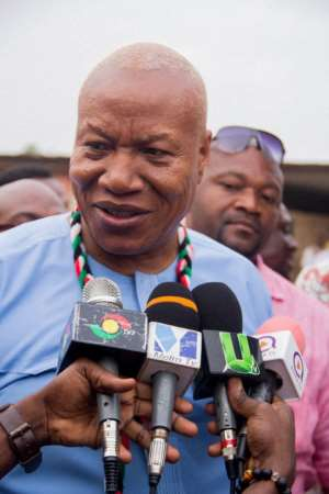 A Stronger Ndc Depends On The Grassroots-Professor Joshua Alabi's Camp