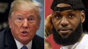 Trump Insults NBA Star Lebron James