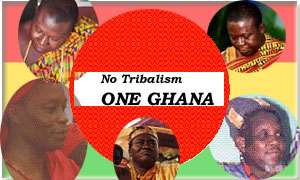 Ghanaians asked to play down ethnicity