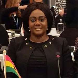 Hon. Barbara Oteng-Gyasi (MP) Prestea Huni-Valley