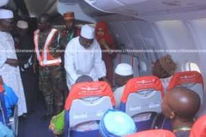 First Batch Of 435 Pilgrims Leave Tamale For 2018 Hajj