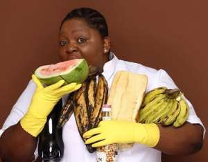 Nollywood Actress, Eniola Badmus Sends Tongues Wagging over Eating Habit