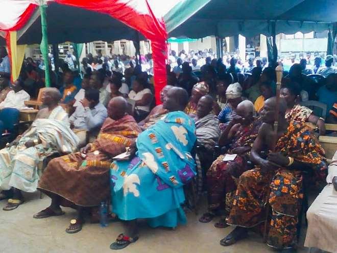 Chiefs And Elders Present