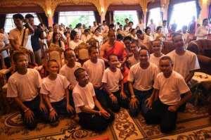 Thai Teenage Footballers Return To School After Cave Saga