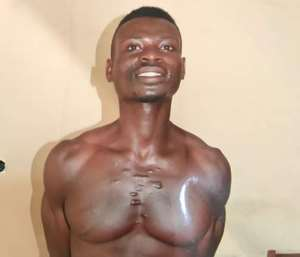 Suspect Kwame Tawiah