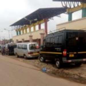 Drivers Ruin Kumasi Jubilee Park