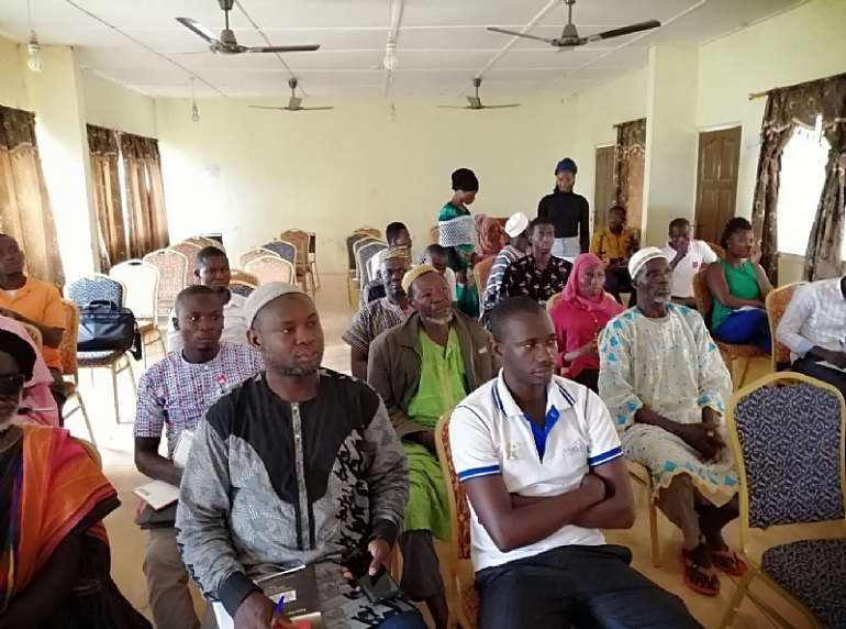 Participants at the Karaga District Assembly