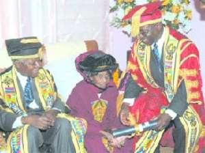 University Of Ghana Honours Docia Kisseih