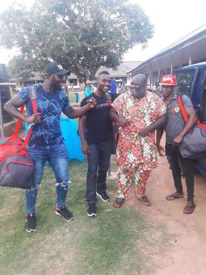 Best FM Sends goodwill message to Cabic Boxers.