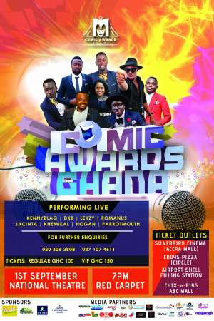 First Time Comedy Awards Held To Honor Ghanaian Comedians