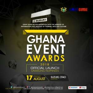 Suzuki CFAO To Host The Launch Of Ghana Event Awards 2018
