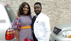 Actress, Esther Audu Ojire Celebrates 2nd Wedding Anniversary with Hubby