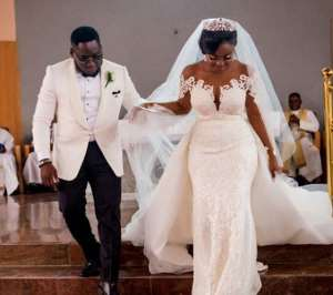 More Photos from Comedian, Ajebo and his Pretty Bride
