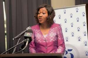President Akufo-Addo Swears In Jean Mensa As New EC Chair