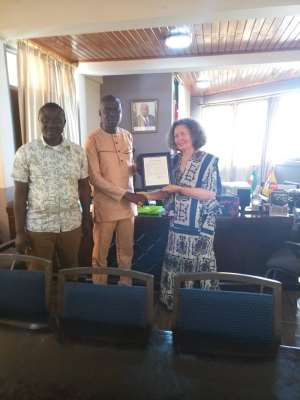 Village Of Hannover Park Delegation Visits MCE Of Cape Coast
